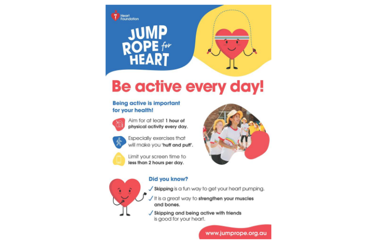 Jump Rope for Heart Poster